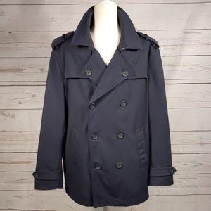 Banana Republic Navy Blue Rain Jacket LIKE NEW!